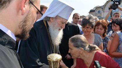 Патриарх Неофит благослови жителите на Монтана