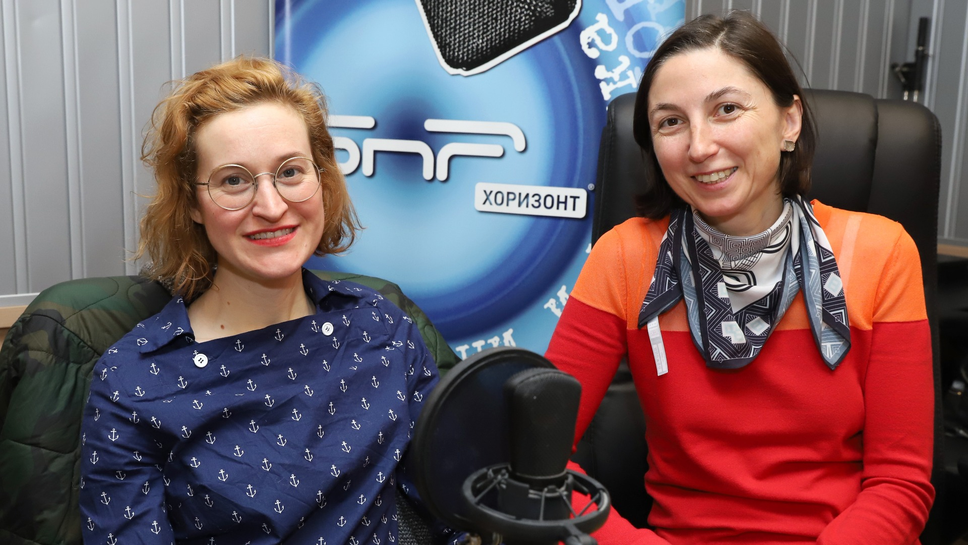 Йохана Шварцова (л.) и Дагмар Остранска