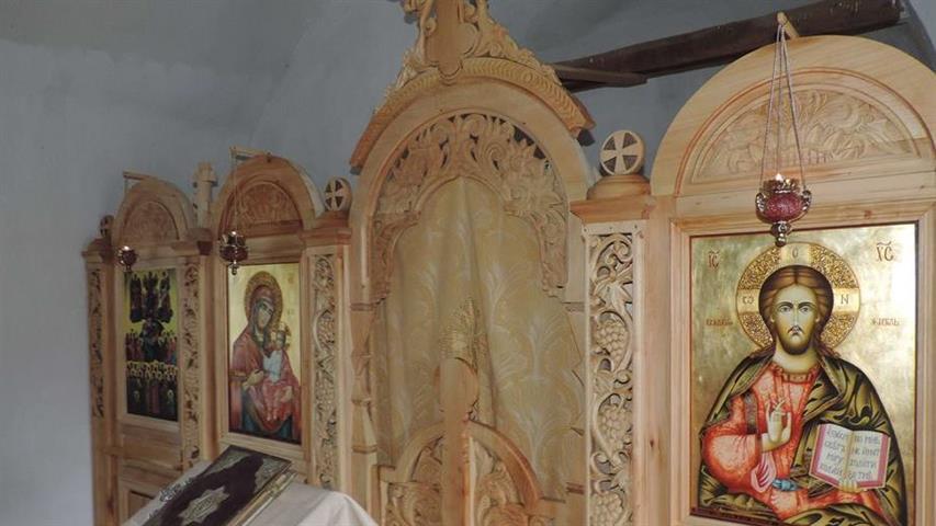 Иконостасът за Чипровския манастир, изработен от местни творци с помощта на проф. Гаврилов