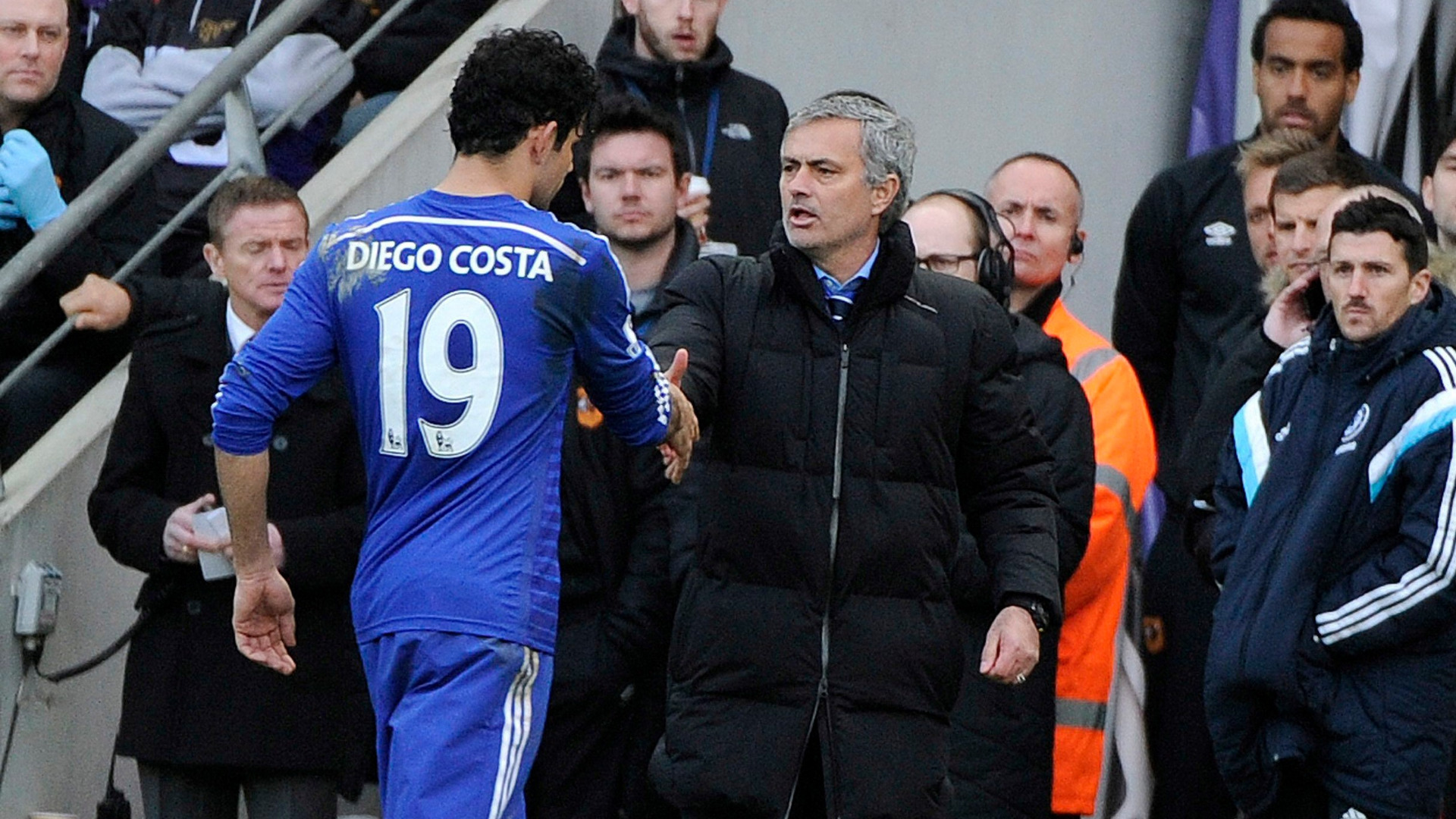 Диего Коста се разбираше добре с Жозе Моуриньо