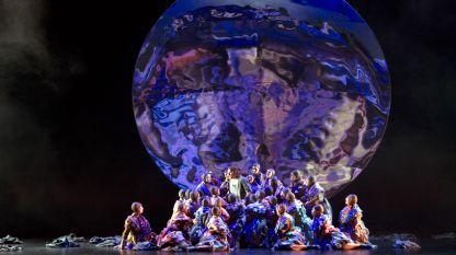 """Сцена от """"Парсифал"""" от Рихард Вагнер - постановка на Холандската национална опера"""
