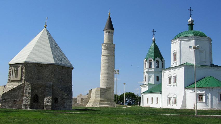 Древният град Болгар. Културният комплекс в днешен Татарстан бе включен в Списъка на световното културно наследство на ЮНЕСКО.