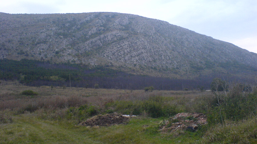 Планината Чепън, в Западна Стара планина, България