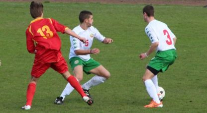 Юношите ни завършиха 1:1 срещу Гърция