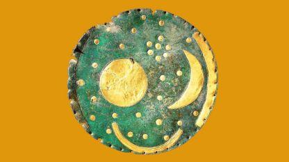 Дискът от Небра - бронзов диск на повече от 3600 години  със златни изображения на слънцето, луната, звезди е най-древното изображение на космоса, както са установили учените