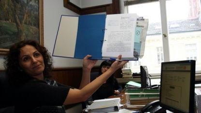 В Софийския градски съд публично беше извършено разпределение на делото за регистрацията на ДОСТ