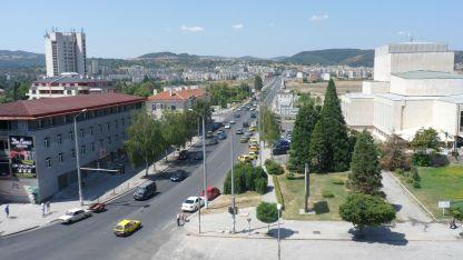 Изглед от град Кърджали