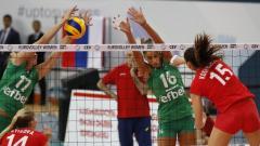 Волейболистките ни завършиха 2:2 гейма срещу Азербайджан в контрола