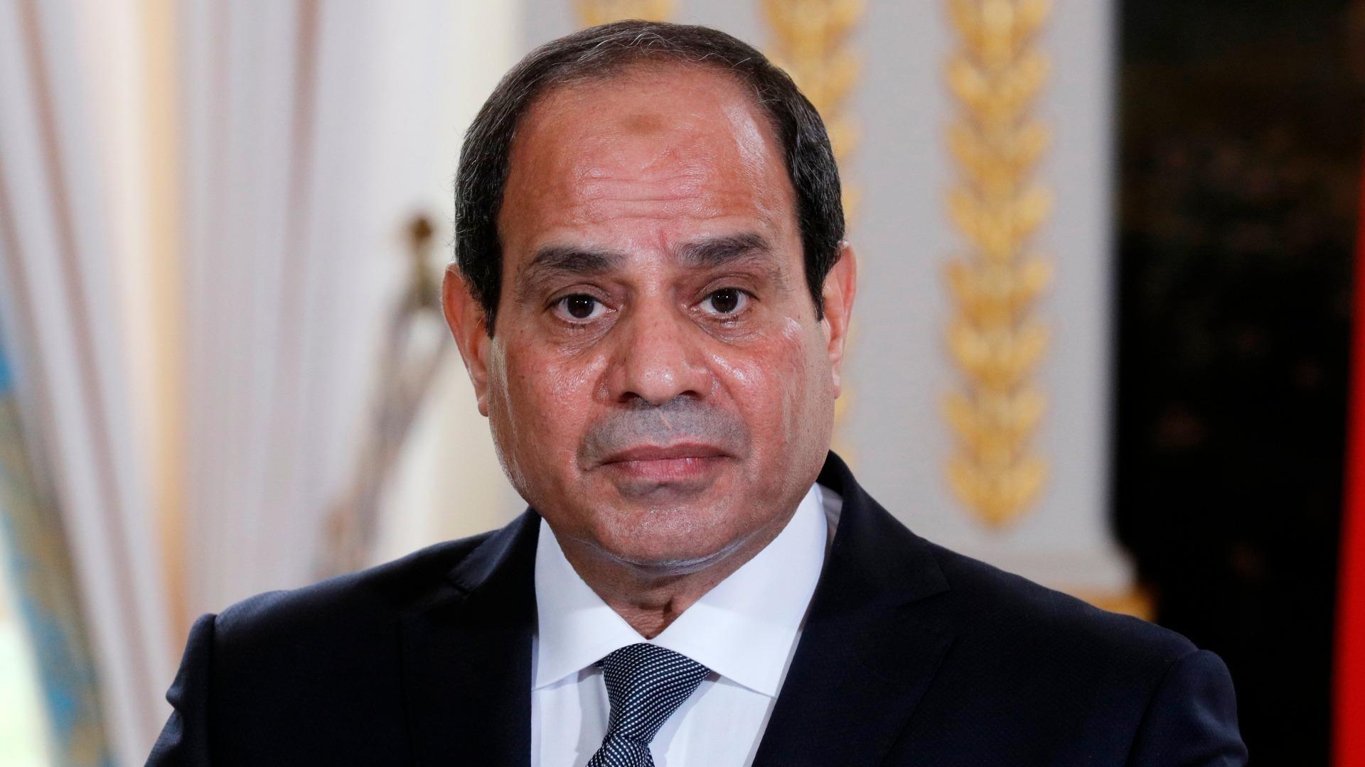 Египетският президент Абдел Фатах ал-Сиси обявинамерението си да се кандидатира