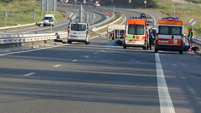 Един загинал в катастрофа край Сливен