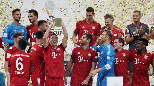 Байерн (Мюнхен) спечели Суперкупата на Германия след разгром над Айнтрахт