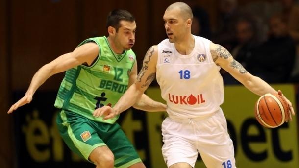 """""""Левски Лукойл"""" приближава върха в баскетбола"""