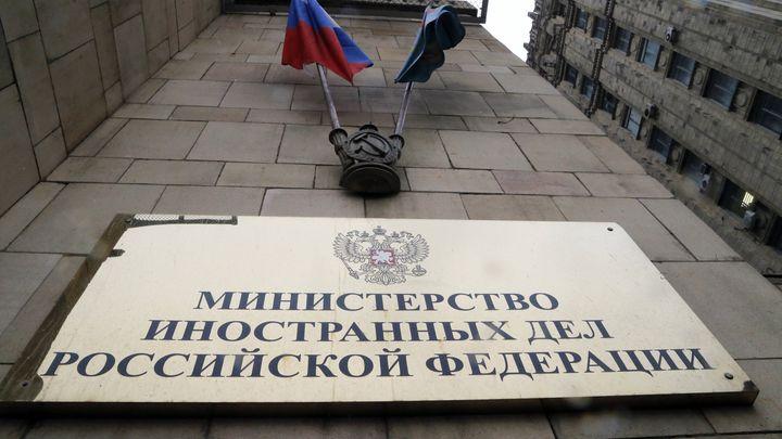 """Русия обяви версиите си по случая """"Скрипал"""" на брифинг за чуждестранните посланици в сградата на външното министерство в Москва"""
