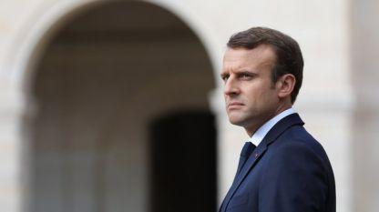 Френският президент Еманюел Макрон