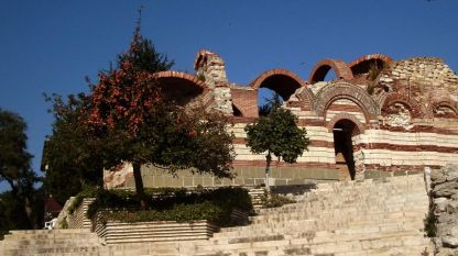 The St. John Aliturgetos Church in Nessebar