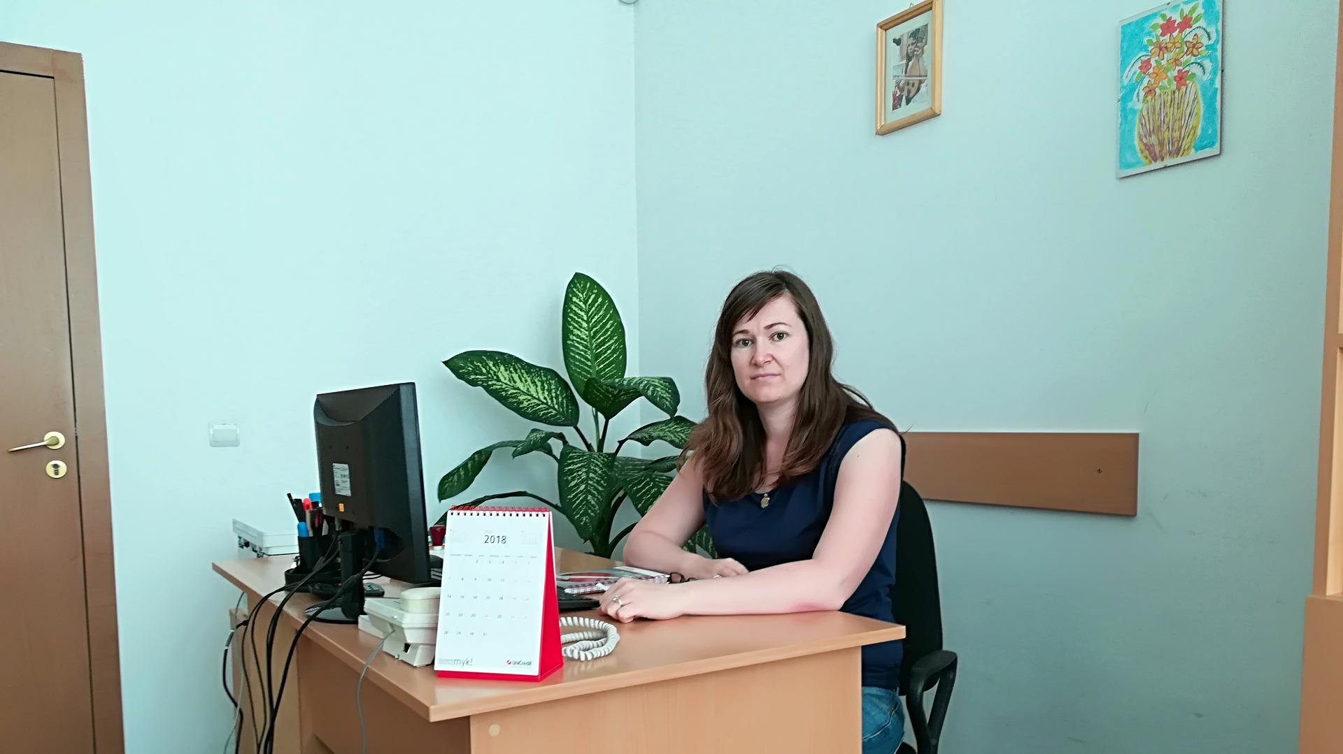 Юлия Найденова, директор на Комплекса за социални услуги за деца и семейства във Видин