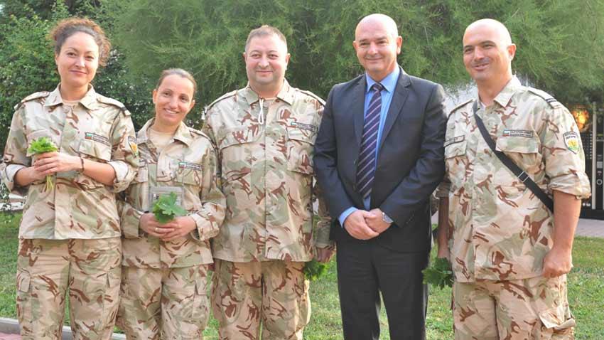 Команда болгарских военных медиков в Мали