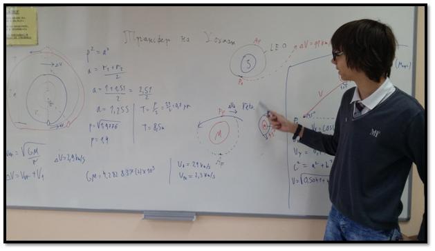 Атанас Симов - бъдещ космически инженер