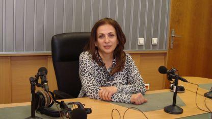 """Поля Станчева в студиото на предаването """"Какво се случва""""."""