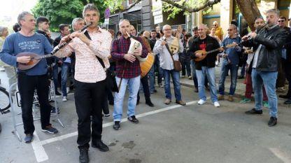 Διαδήλωση μουσικών ΒΕΡ