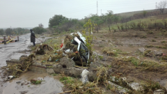Последици от потопа в село Черни връх, Бургаско