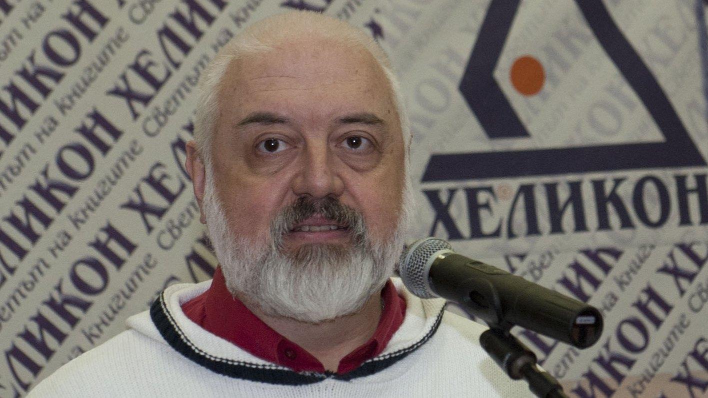"""Снимка: Бойко Ламбовски: Не връчихме наградата за литература """"Хеликон"""" поради липса на консенсус"""