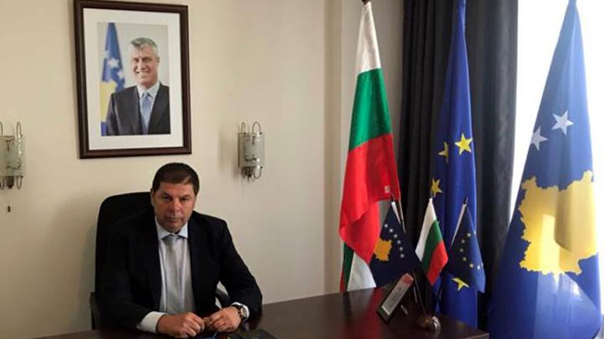 Plamen Kopchev - Konsulli i Nderit i Republikës së Kosovës në Nesebar