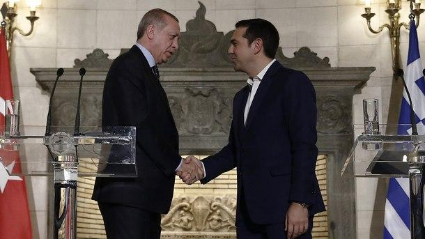 Реджеп Ердоган и Алексис Ципрас