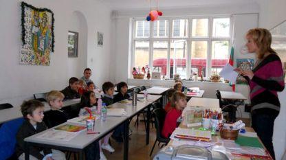 """Неделната група на 4-5-годишни деца от """"Азбукарче"""" на Българското училище към Посолството на България в Лондон."""
