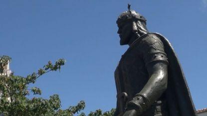 Паметникът на кан Тервел в Свети Влас