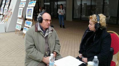 Архитект Тодор Булев с водещата Анелия Торошанова