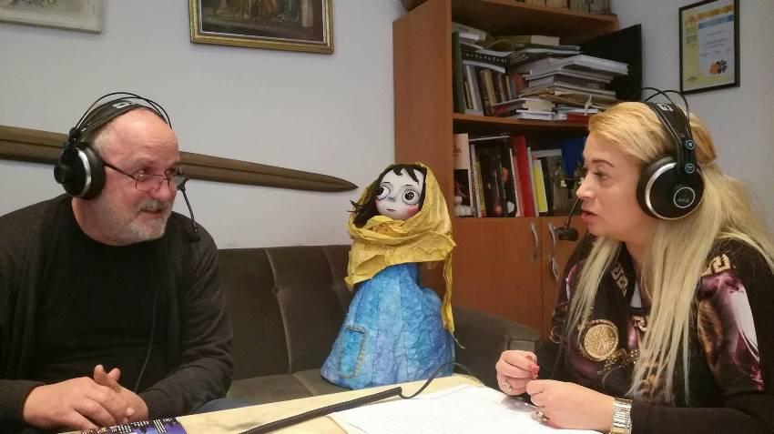 Директорът на Столичния куклен театър Кирякос Аргирополус на гости в Радиокафе