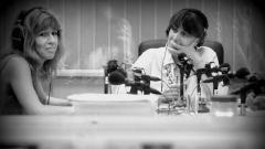 """Силвия Великова (вляво) и Ирен Филева в студиото на """"Клубът на журналистите"""""""