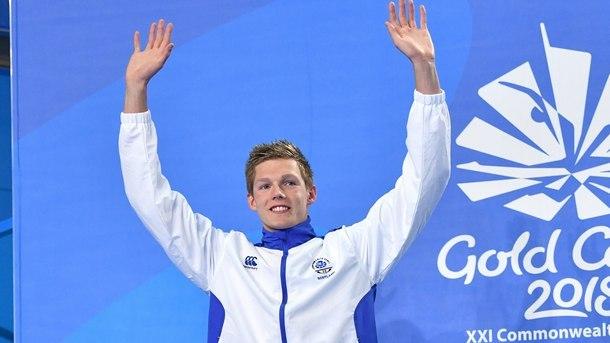 Дънкан Скот от Великобритания спечели титлата на 200 метра свободен