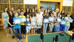 Наградените участници в конкурса от миналата година