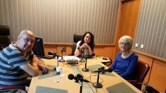 Доц. Орлин Спасов, Николета Атанасова и проф. Нели Огнянова (отляво надясно)