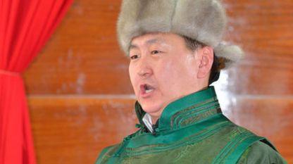 """Изпълнение на Чинзориг Чимеддорж по време на научната конференция """"Будистката култура в Хималаите и Монголия"""""""