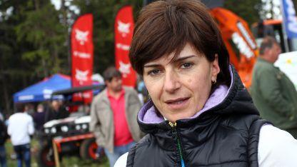 Екатерина Дафовска - президент на БФ по биатлон