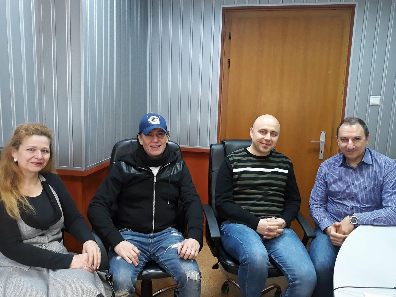 Виолета Матева, Константин Върбанов - Тино, Христо Господинов и Деян Карашманлъков (от ляво надясно)