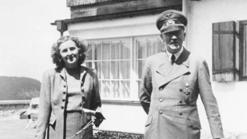 Ева Браун и Адолф Хитлер