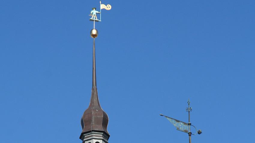 Старият Томас е един от символите и пазителите на Талин.