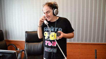 Ники Станоев на гости и в Радио ВИДИН.
