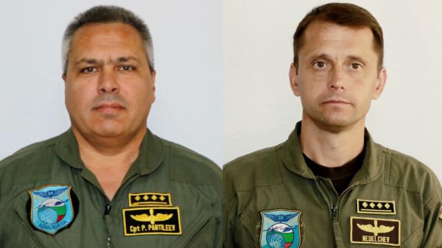 Кап. Пламен Пантилеев и кап. Стоян Неделчев