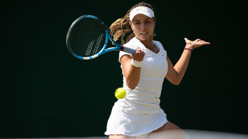 Снимка: Виктория Томова отново със стипендия от ITF