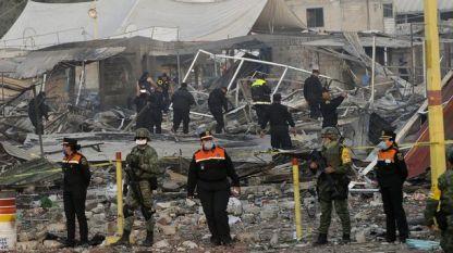Пазарът за фойерверки в Мексико сити след взривовете