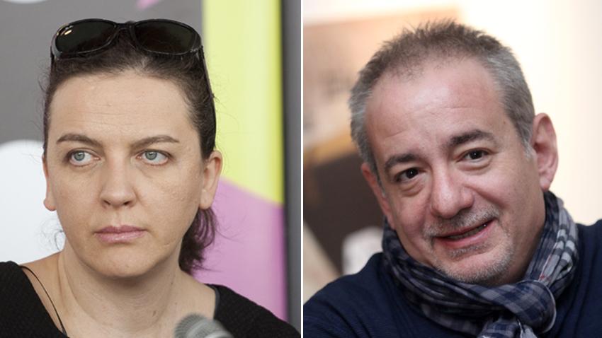 Мартичка Божилова и Стефан Командарев