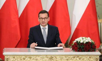 Матеуш Моравецки, министър-председател на Полша