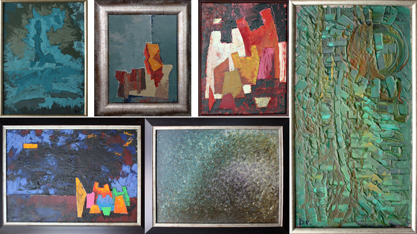 Картини от изложбата на Владо Руменов