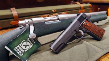 Пушка и пистолет на
