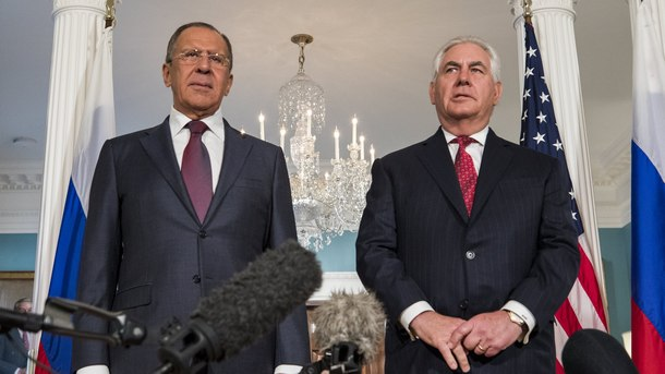 Сергей Лавров и Рекс Тилърсън